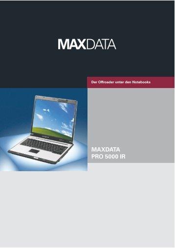MAXDATA PRO 5000 IR
