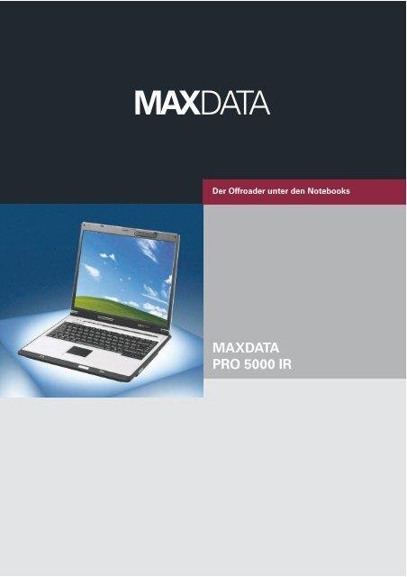 MAXDATA PRO 5000 WINDOWS 8.1 DRIVER