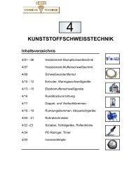 Kunststoffschweisstechnik - HOGA Schweisstechnik GmbH