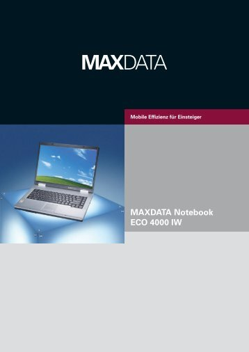 MAXDATA Notebook ECO 4000 IW