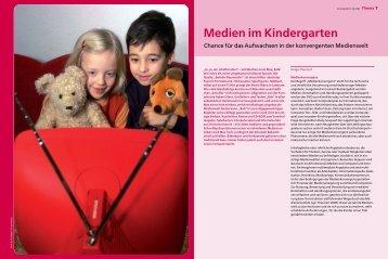 Medien im Kindergarten