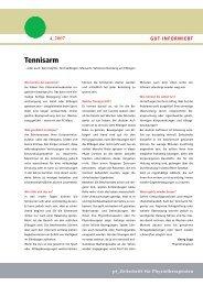 Tennisarm