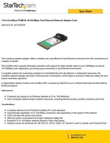 AboCom 10/100 CardBus Ethernet Card Windows 8