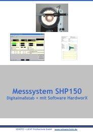 Messsystem SHP 150 - Schütz + Licht Prüftechnik GmbH