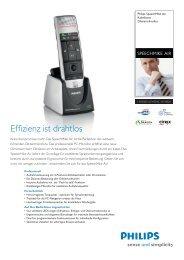 Infoblatt SpeechMike Air - Softtrend AG