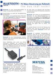 BLUETOOTH - Meyra