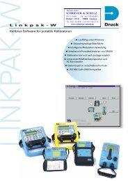 Linkpak-W Kalibrier-SoftwareD - SCHRIEVER & SCHULZ & Co. GmbH