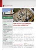"""Vom alten Gemeindeamt zum neuen """"Rathaus"""" - Marktgemeinde ... - Seite 2"""