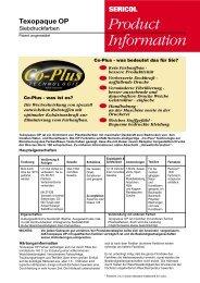 Product Information Texopaque OP