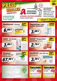 4,64 € Sie sparen - Johannis Apotheke