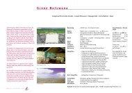 Green Botswana Reiseverlauf - bei african-collection.ch