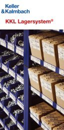 KKL Lagersystem® - Keller & Kalmbach Gmbh