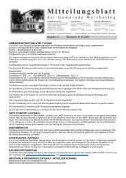 Ausgabe 11 Mittwoch, 25.05.2005 - Weichering