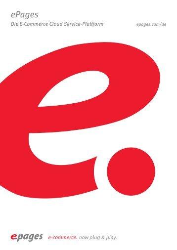 Alle Tools für den Erfolg Ihre Kunden als professionelle ... - ePages