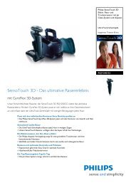 Leaflet RQ1250_22 Released Germany (German) High-res ... - Philips