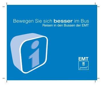 manual uso del autobús alemán.FH11 - EMT Madrid
