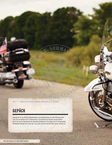 katalog 2014 corii motorradtaschen aus leder f r harley. Black Bedroom Furniture Sets. Home Design Ideas
