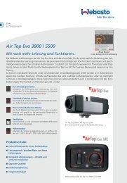Air Top Evo 3900 / 5500 Mit noch mehr Leistung und Funktionen.