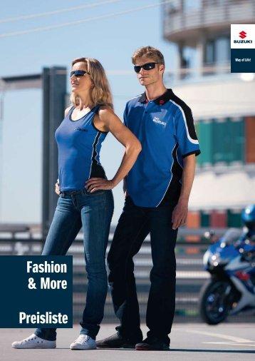 Fashion & More Preisliste - Suzuki
