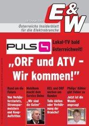 Lokal-TV bald österreichweit! - E&W