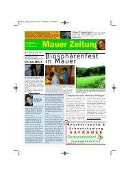 Biosphärenfest in Mauer - Liesing online