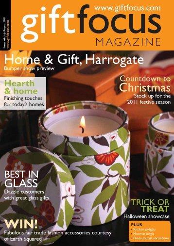 Home & Gift, Harrogate - Gift Focus magazine