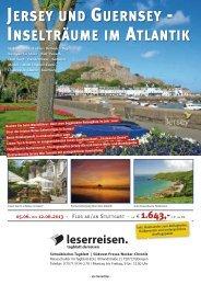 Jersey und Guernsey 2013