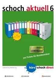 3x2 Tickets für Bundesordner - Büro Schoch - Büro Schoch direct AG