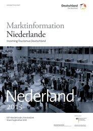 Marktinformation Niederlande - Germany – travel