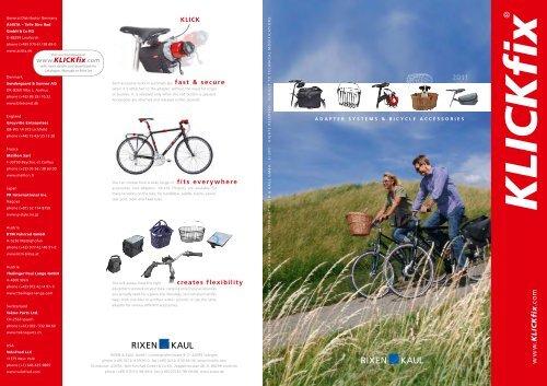NEW Rixen /& Kaul Klickfix Bicycle Headtube Mount Bracket *Adaptor*