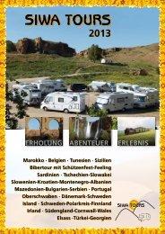 Katalog SIWA-TOURS 2013