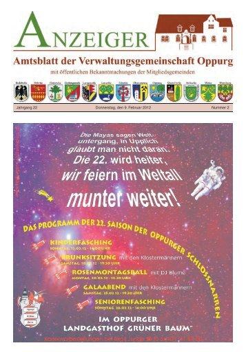 gemeinde bodelwitz - Verwaltungsgemeinschaft Oppurg