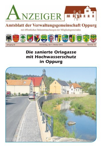 gemeinde solkwitz - Verwaltungsgemeinschaft Oppurg