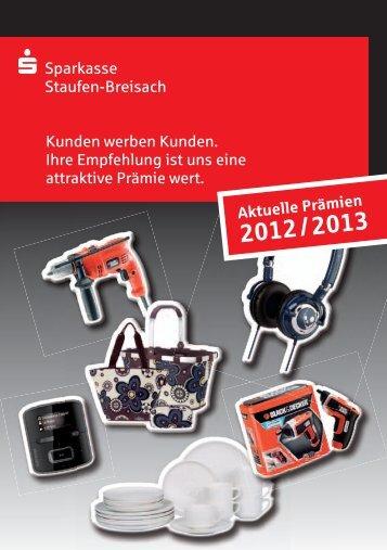 Für die Werber - Sparkasse Staufen-Breisach