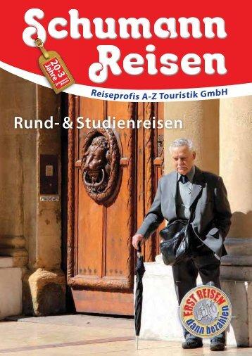 Katalog Rund- und Studienreisen