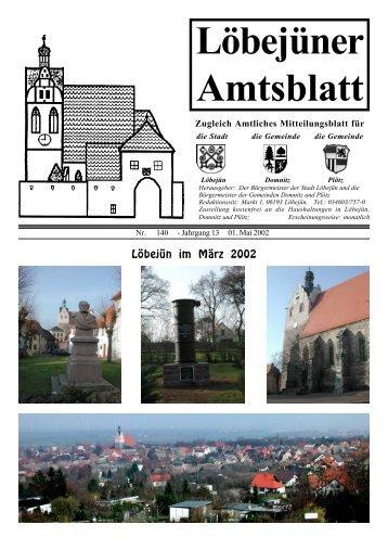 Löbejüner Amtsblatt Mai 2002
