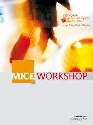 MICE WORKSHOP - Corps Touristique