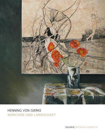 HENNING VON GIERKE Märchen und Landschaft