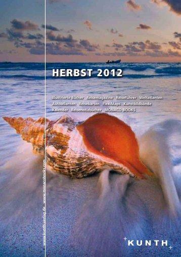 HErBST 2012 - Kunth Verlag