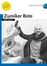 PDF – ZUBO-Broschuere – Winter 2012/2013 - Zumiker Bote