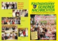Gemeindezeitung, 2. Quartal 2006 - Marktgemeinde Kirchstetten