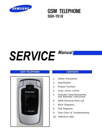 samsung sgh s500 service manual rh yumpu com Samsung Washer Parts Manual Wa40j3000aw A2 Samsung Owner's Manual