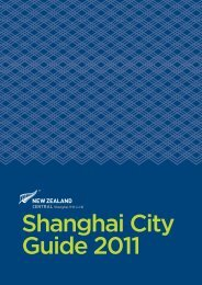 Shanghai Travel Information Service Center - New Zealand Trade ...