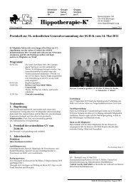 Protokoll zur 36. ordentlichen Generalversammlung der SGH-K vom ...