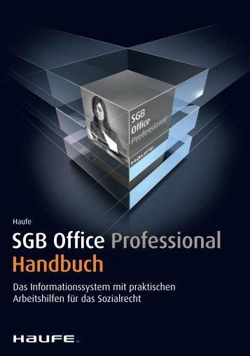 SGB Office Professional Handbuch - iDesk2 - Haufe.de