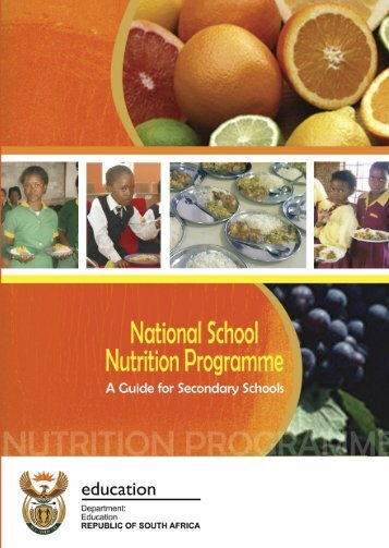 School Nutrition Programme - Department of Basic Education