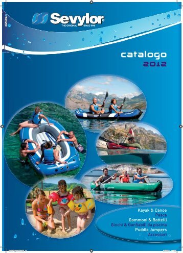 Catalogo KAYAK SEVYLOR 2012