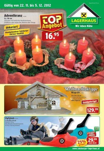 Adventgestecke - Lagerhaus