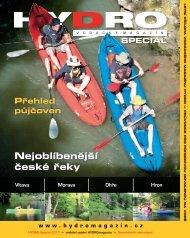 Přehled půjčoven Nejoblíbenější české řeky SPECIÁL - Hydro
