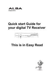 I can plug a SCART lead in. - Switchover Help Scheme